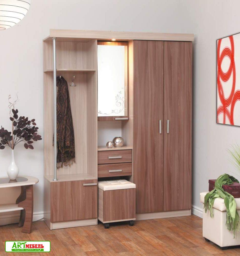 Мебель для прихожей дебют 5 - интернет-магазин мебели адель .